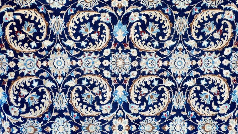 典型的土耳其地毯的样式 免版税库存照片
