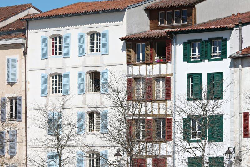 典型的大厦门面 免版税库存图片