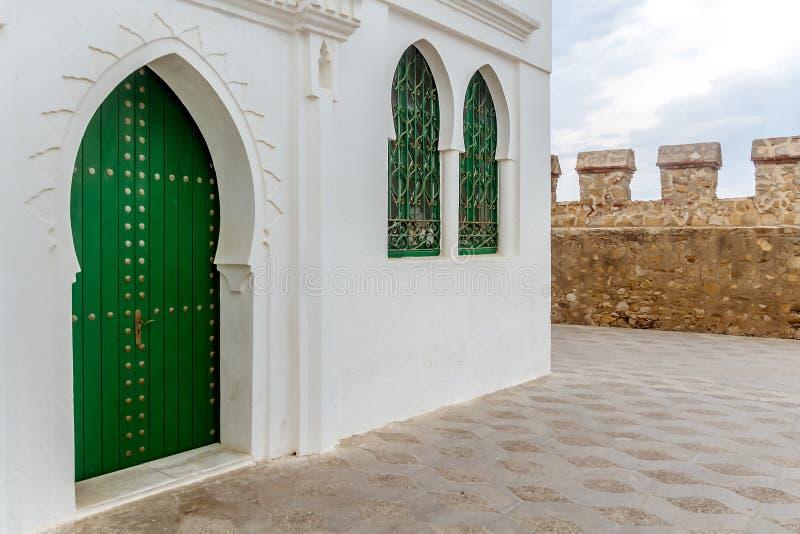 典型的摩洛哥大厦 库存照片