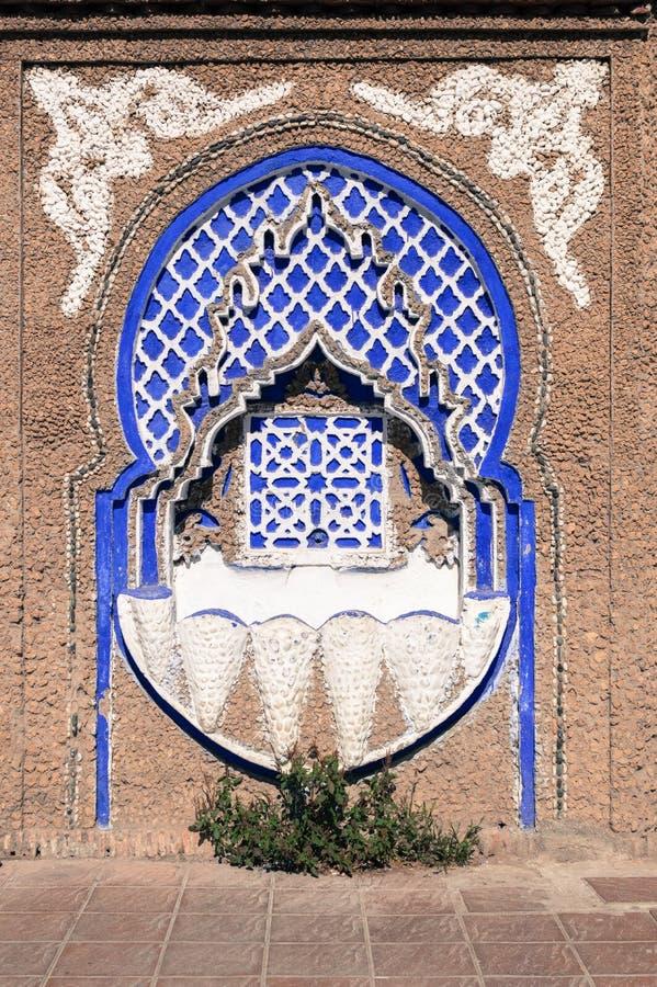 典型的摩洛哥字体 免版税图库摄影