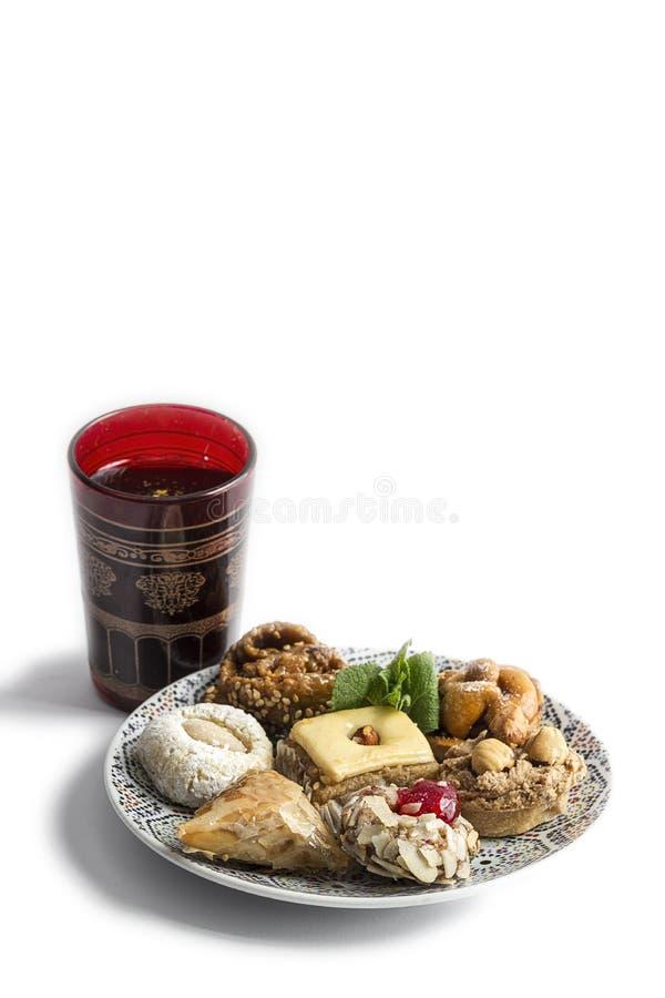 典型的摩洛哥甜点 自创 免版税库存图片