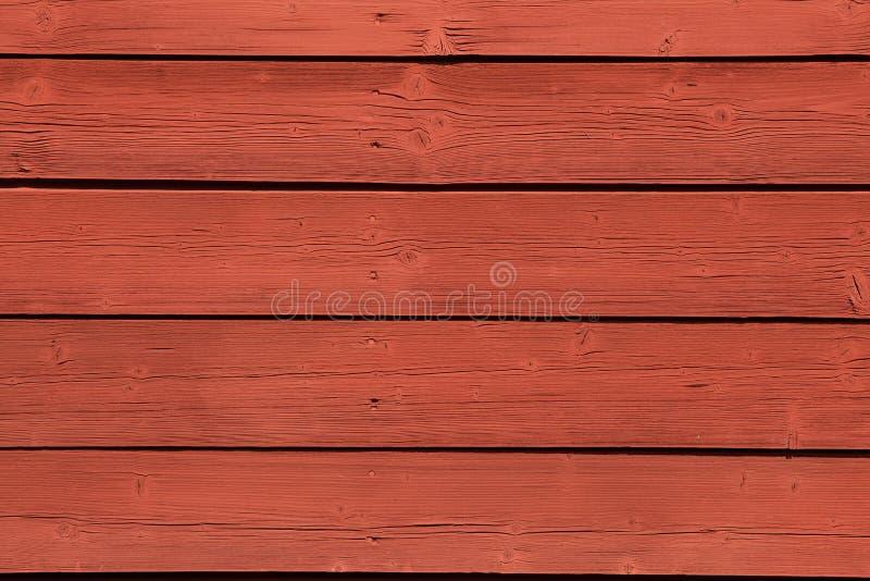 典型的瑞典人法伦红颜色,非常流行在瑞典 免版税库存照片