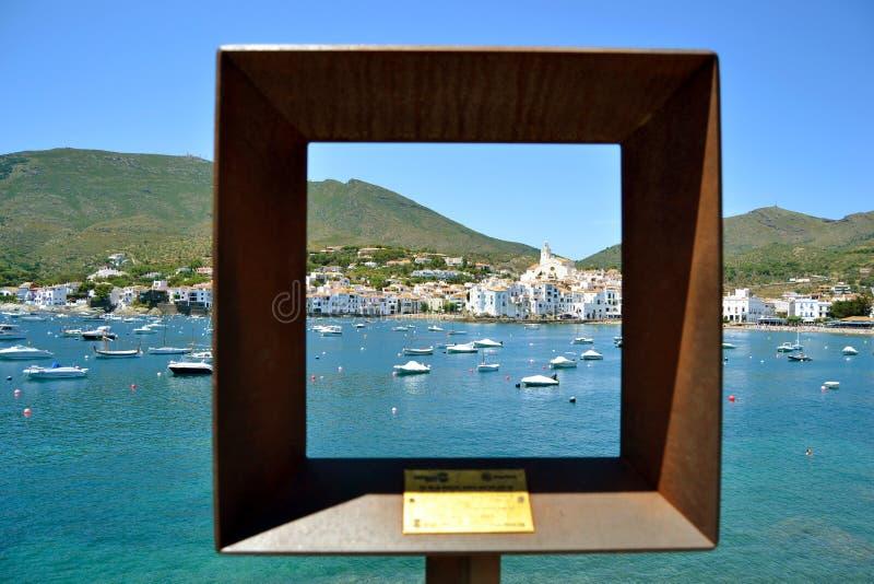 典型的风景地中海天堂 库存图片