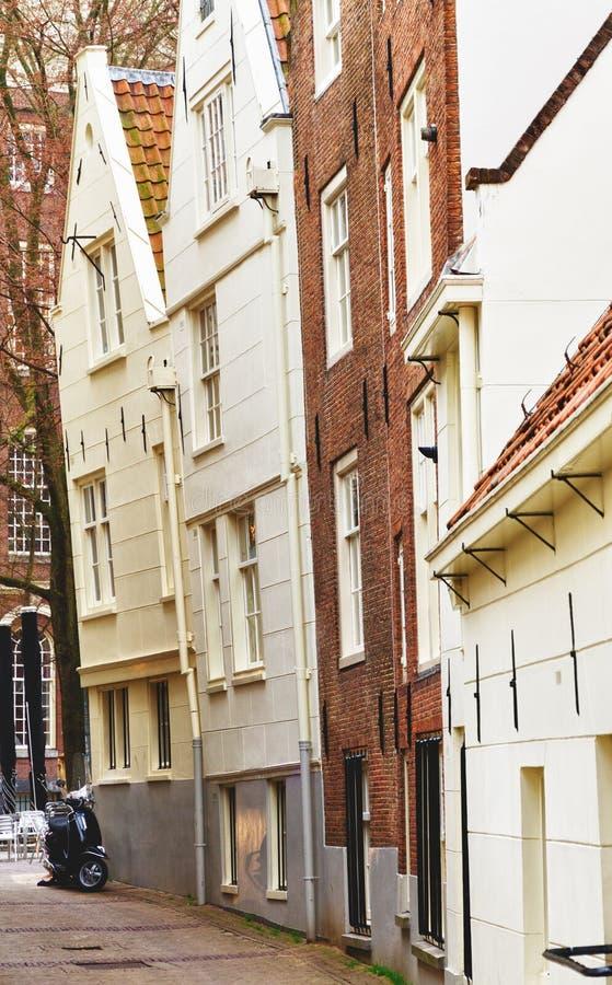 典型阿姆斯特丹的房子 图库摄影