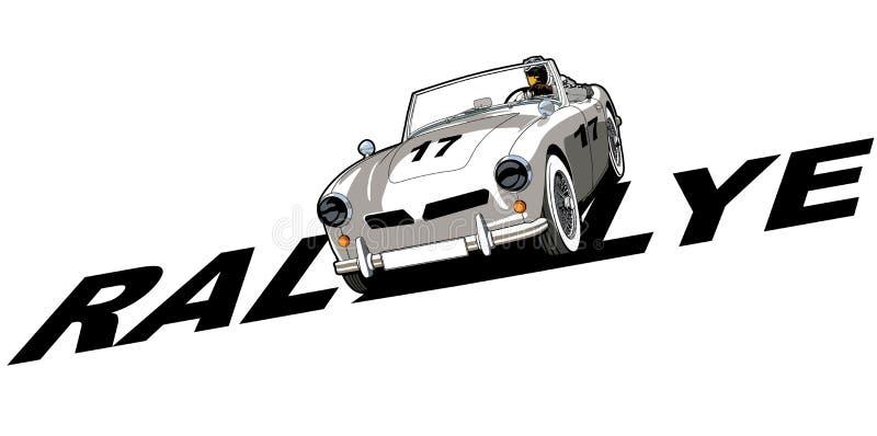 经典汽车体育 皇族释放例证