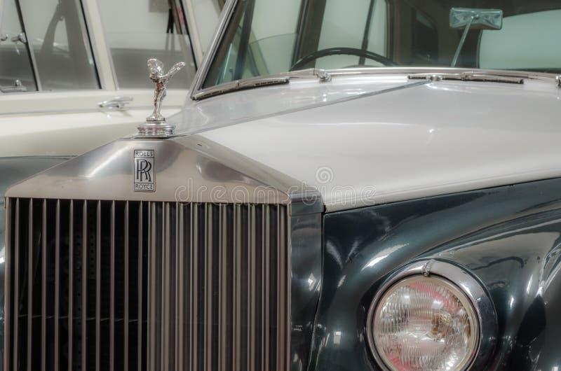经典汽车细节视图 库存照片