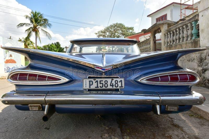经典车的哈瓦那,古巴 库存照片