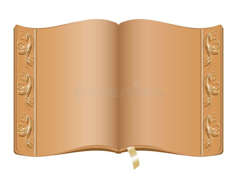 典雅的书 库存例证
