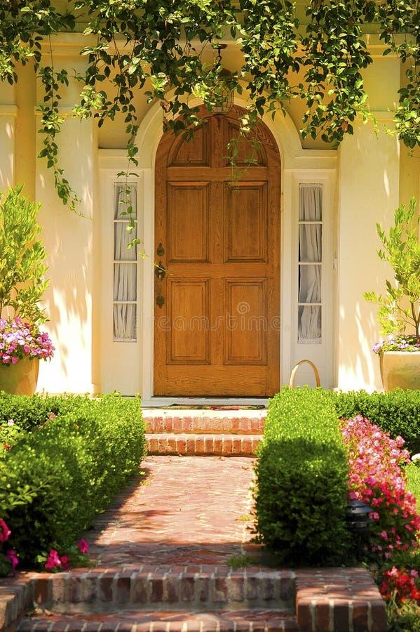 典雅的入口 库存照片