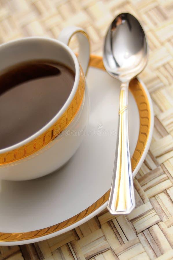 典雅的咖啡杯 库存照片