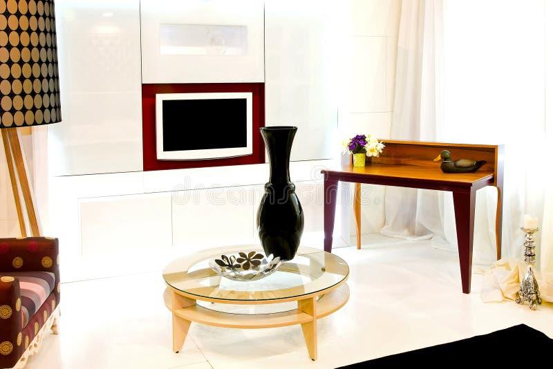典雅的客厅 库存照片