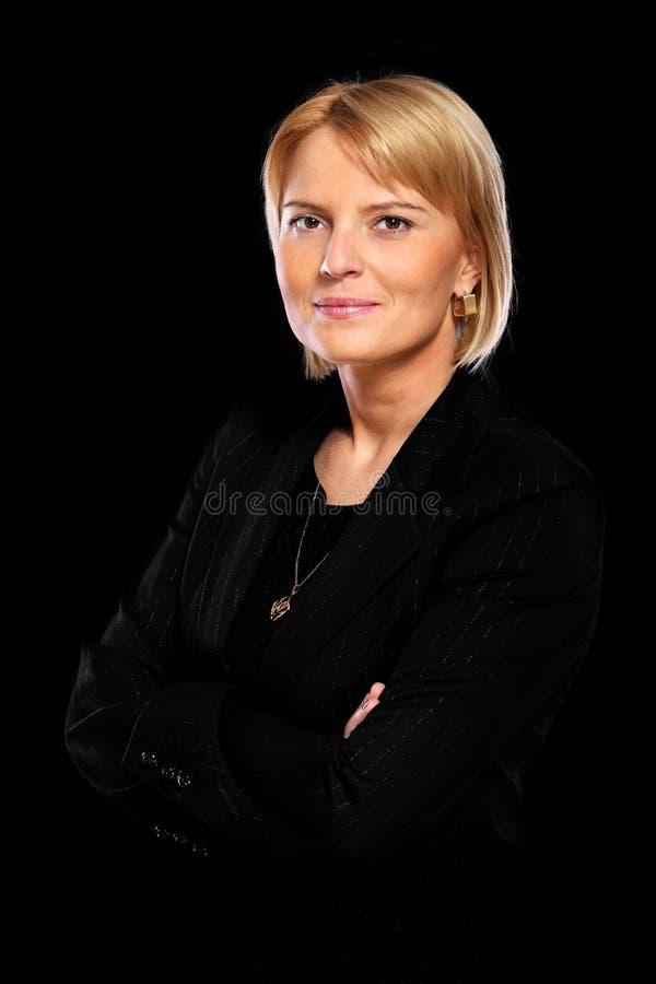 典雅的少妇 免版税库存图片