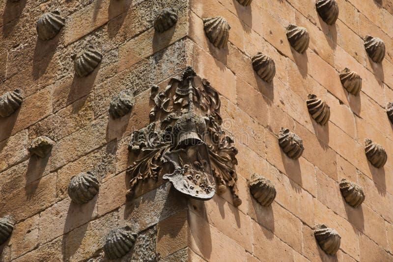 典雅的房子Casa de la Conchas 免版税库存照片