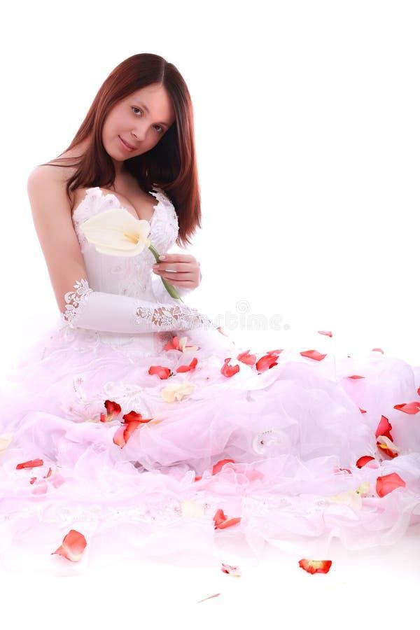 典雅的新娘 图库摄影