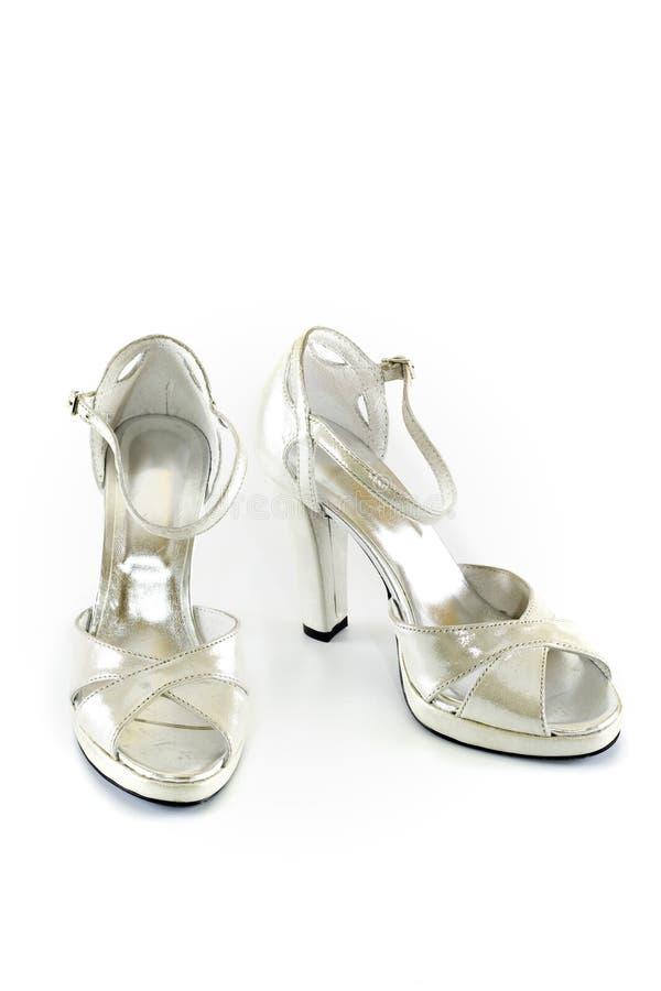 典雅的现代鞋子 免版税库存图片