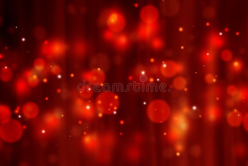 典雅的红色欢乐背景 向量例证