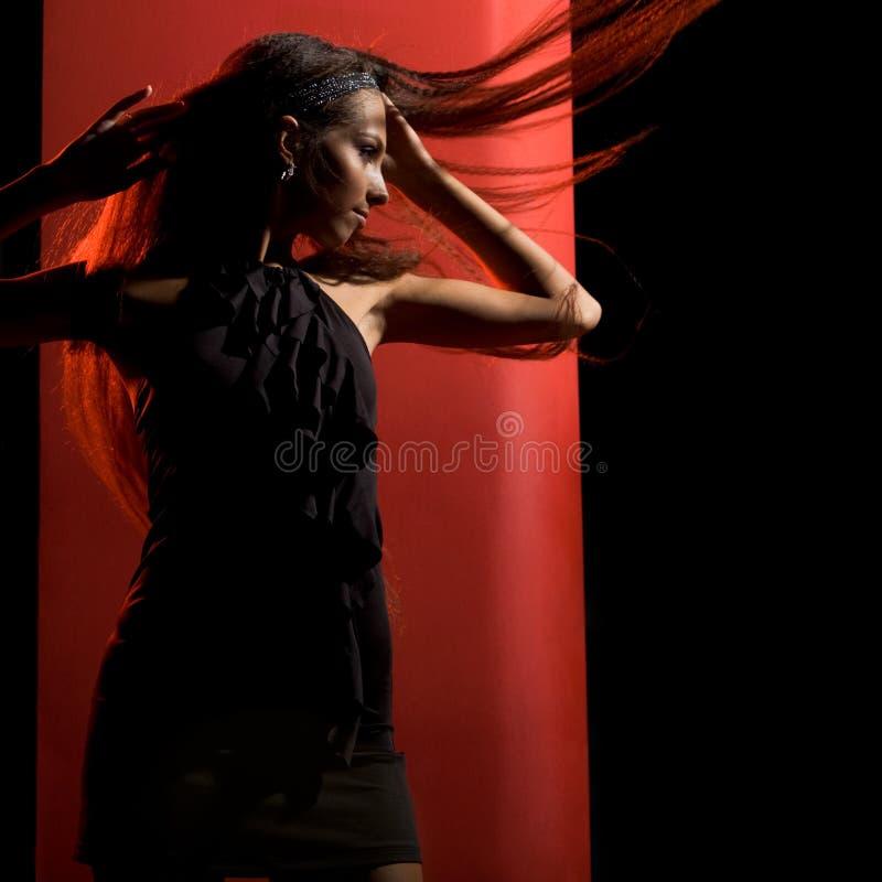 典雅的舞蹈演员 库存照片
