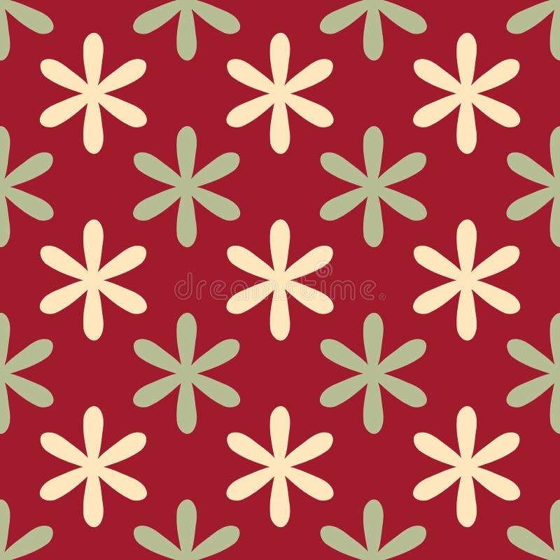典雅的装饰华丽无缝的样式-织品纺织品设计 向量例证