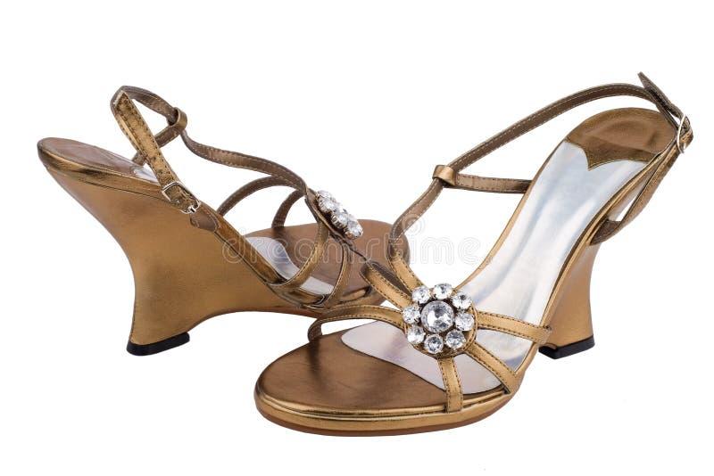典雅的鞋子 库存图片