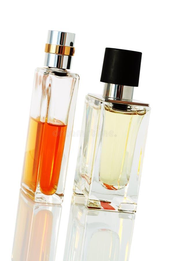 典雅的香水瓶 免版税库存图片