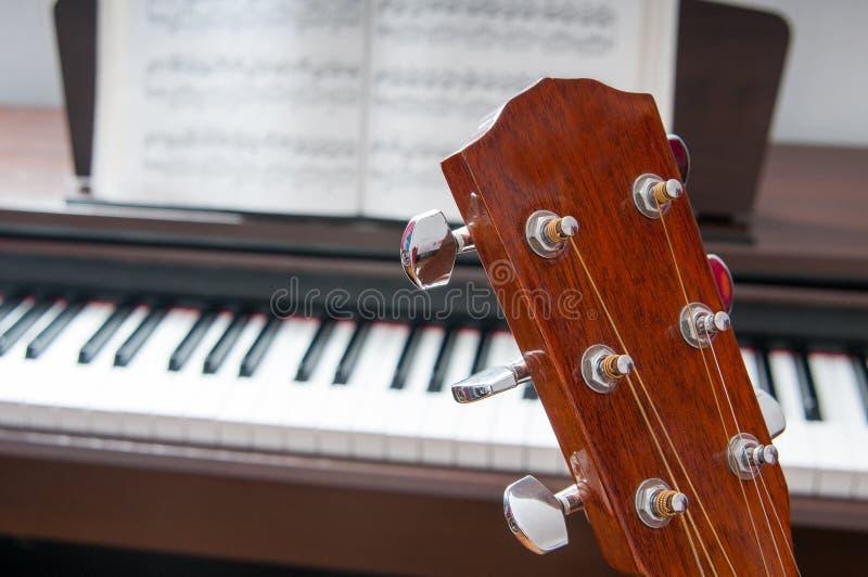 经典音乐拼贴画 免版税库存图片