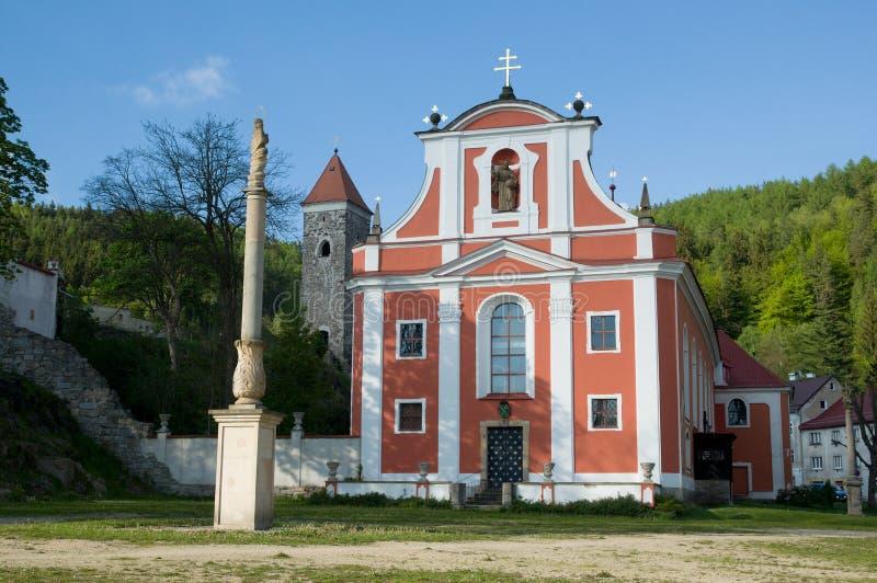内代克,波希米亚西部,捷克共和国 免版税库存图片