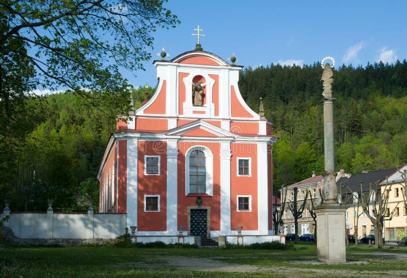 内代克,波希米亚西部,捷克共和国 图库摄影