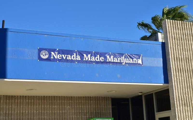 内华达做了大麻消遣销售防治所 库存照片