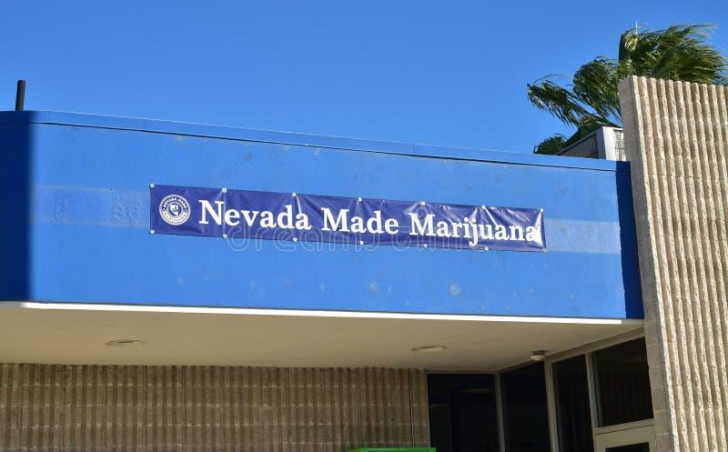 内华达做了大麻消遣销售防治所 免版税库存照片