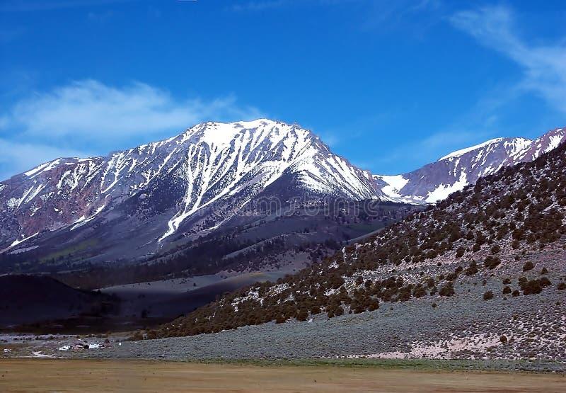 内华达山脉 库存照片