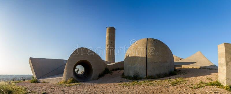 内盖夫旅团纪念品,以色列 免版税库存图片