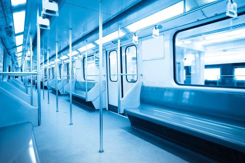 内部地铁 免版税图库摄影