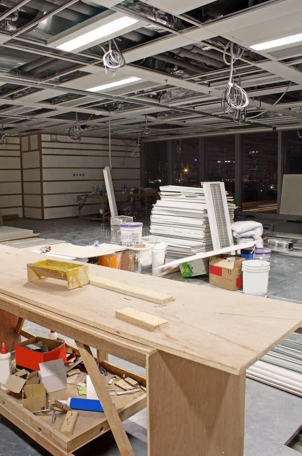 内部建造场所 库存图片