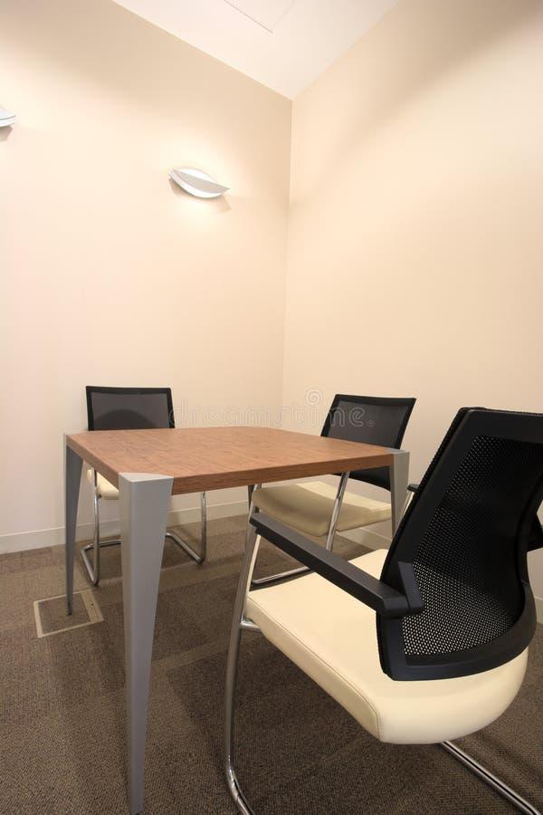 内部新的办公室 免版税库存图片