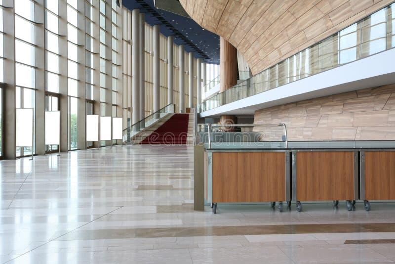 内部现代台阶 免版税图库摄影