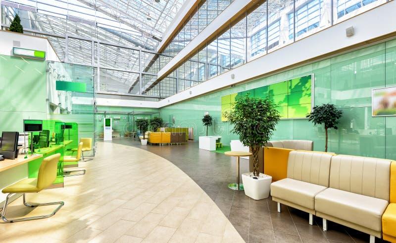 内部现代办公室 免版税图库摄影