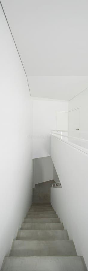 内部,水泥楼梯 库存照片