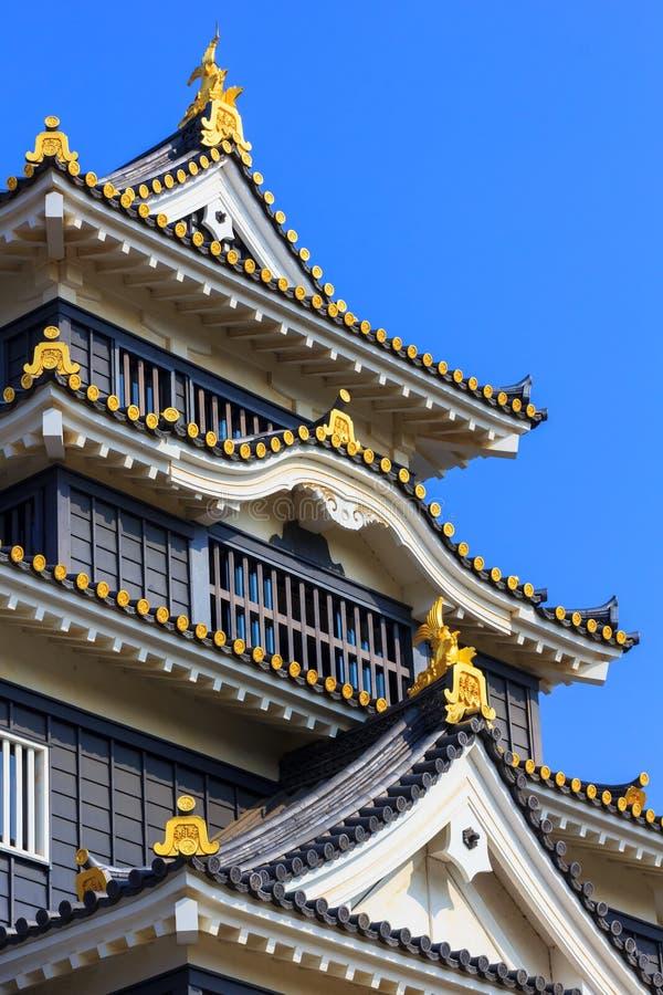 冈山城堡或乌鸦城堡在冈山 库存图片