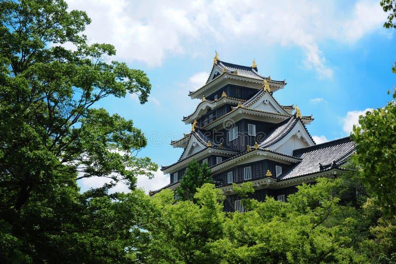 冈山jo城堡 免版税图库摄影