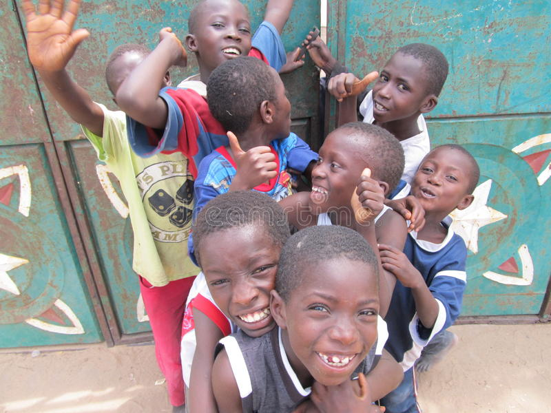 冈比亚喜悦 免版税库存照片