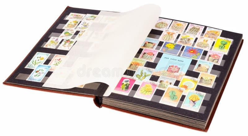 册页开放印花税 免版税库存照片