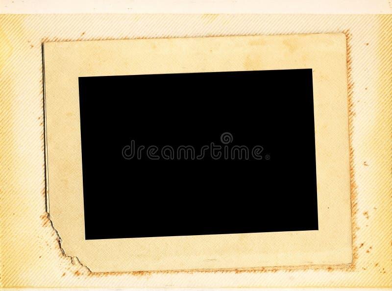 册页照片葡萄酒 免版税库存图片