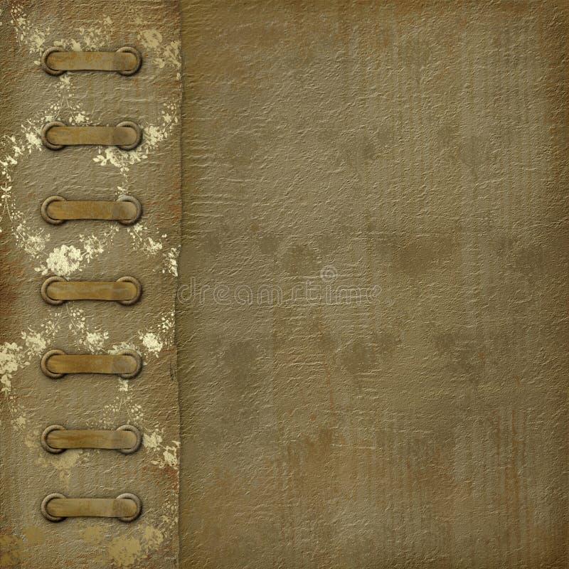 册页盖子grunge照片 皇族释放例证