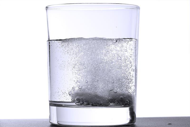 冒泡玻璃压片二 库存照片
