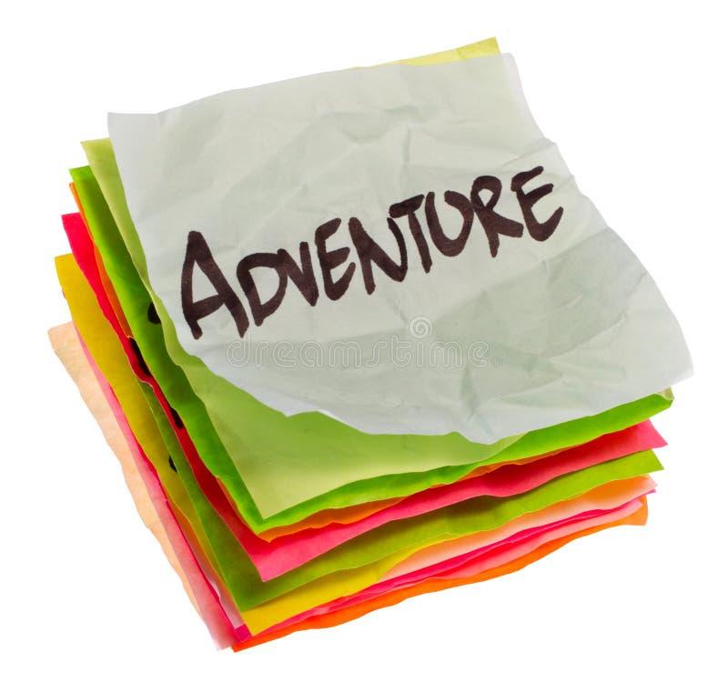 冒险选择生活优先权设置 免版税库存照片
