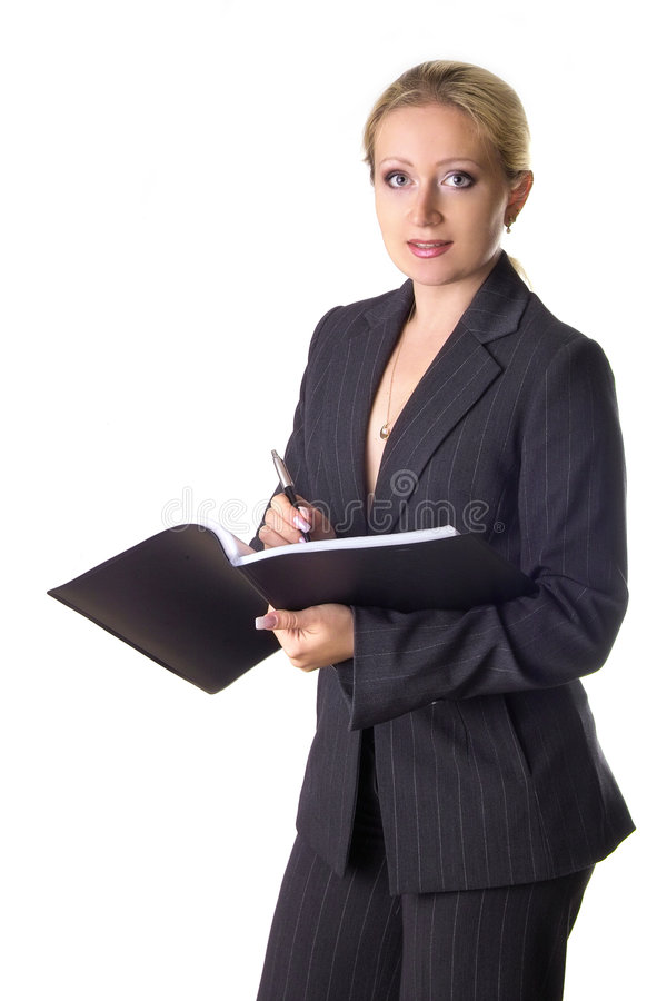 Download 写下 库存照片. 图片 包括有 通知单, 专业人员, 女孩, 人们, 文件, 商业, 老油条, 记录, 符号 - 192480