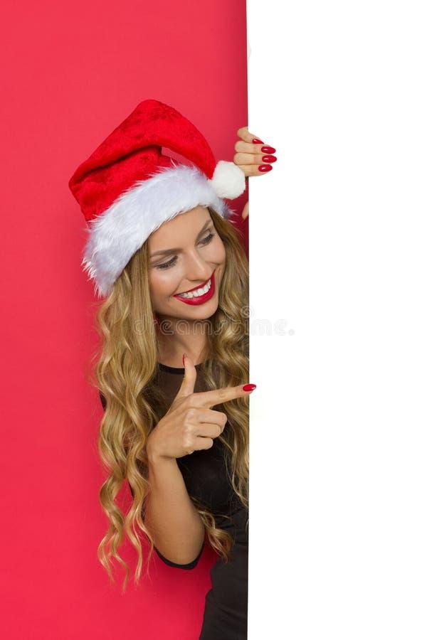 写您的圣诞节愿望 免版税库存图片
