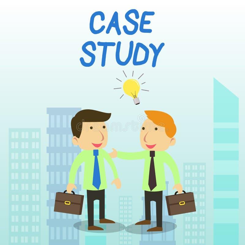 写文本专题研究的词 分析和一个具体研究设计的企业概念审查的第两个问题 向量例证