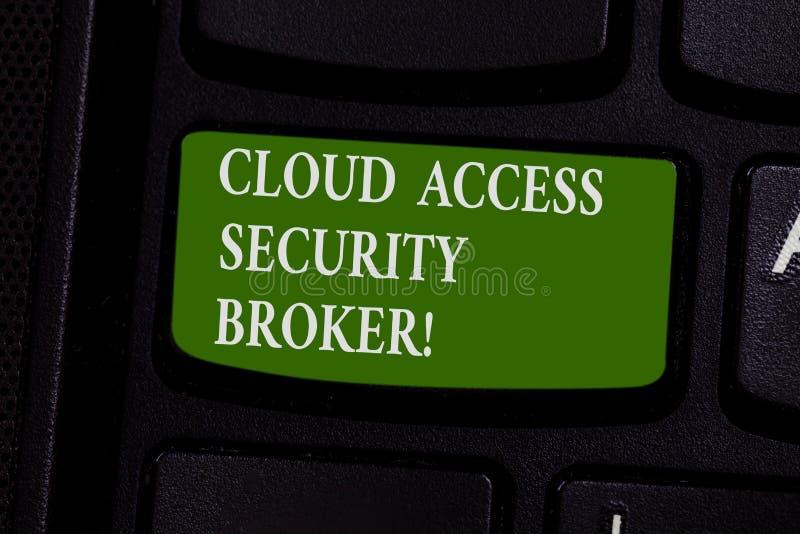 写文本云彩通入保密性代理人的词 换现代文件存储的安全事务的企业概念 库存照片