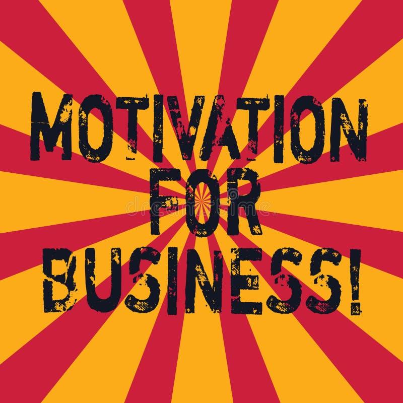 写文本刺激的词为事务 欲望和能量的企业概念不断地承诺给工作 库存例证